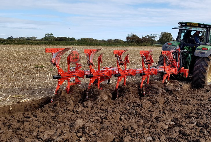 MASCHIO UNICO PLOUGH 4+1 NON STOP HYDRAULIC ON SLATTED BODIES