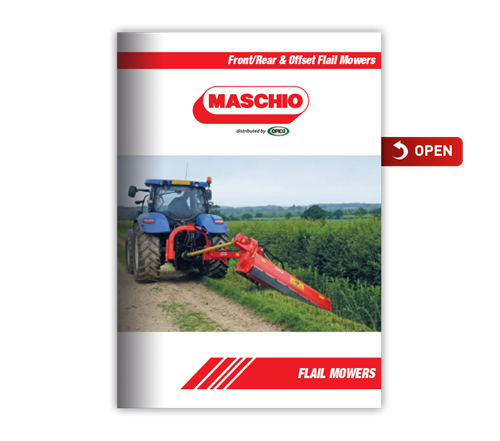 Maschio Flail Mower Brochure